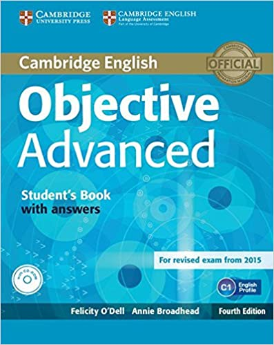 Objective advanced students book with answers with cd rom felicity objective advanced students book with answers with cd rom 4th edition fandeluxe