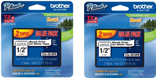 Brother Tz Tape Cartridge - Brother P-Touch TZ Tape TZ-231 4 Value Pack