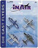 world war two planes - InAir Die Cast World War II Warbirds 4 Piece Set