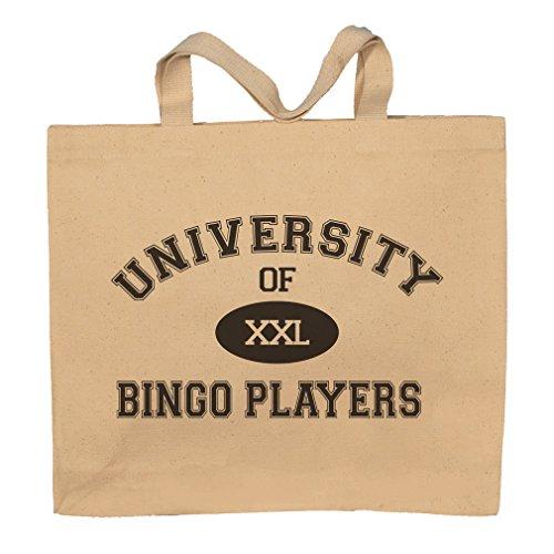 University Of XXL Bingo Players Totebag Bag by T-ShirtFrenzy