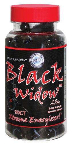 BLACK WIDOW 25 MG EPHEDRA 90 CAPS