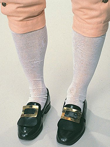 Forum Novelties Colonial Knee Socks (White) Adult Accessory