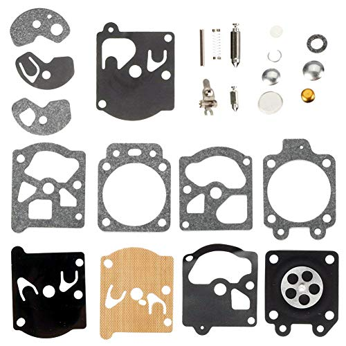 - QAZAKY Carburetor Diaphragm Gasket Rebuild Repair Kit for Walbro K10-WAT WA WT Series Carb String Trimmers Blowers Chainsaw