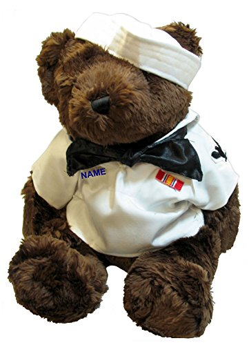 Navy Teddy Bear (Accented Apparel N More Stuffed 18