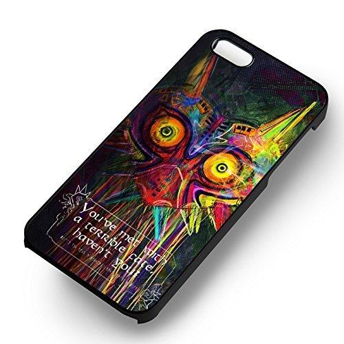Majora Mask Zelda pour Coque Iphone 6 et Coque Iphone 6s Case (Noir Boîtier en plastique dur) T8S3YT