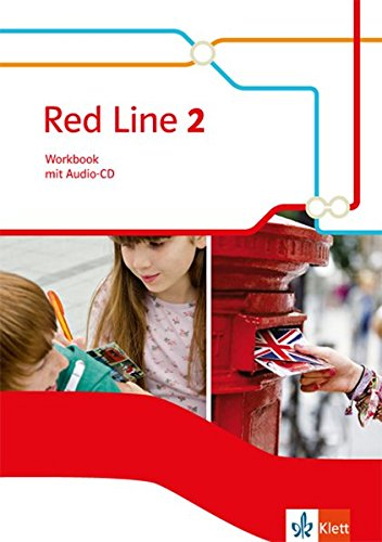 Red Line, Teil: 2 = Kl. 6. / Workbook, (inkl. Audio-CD)