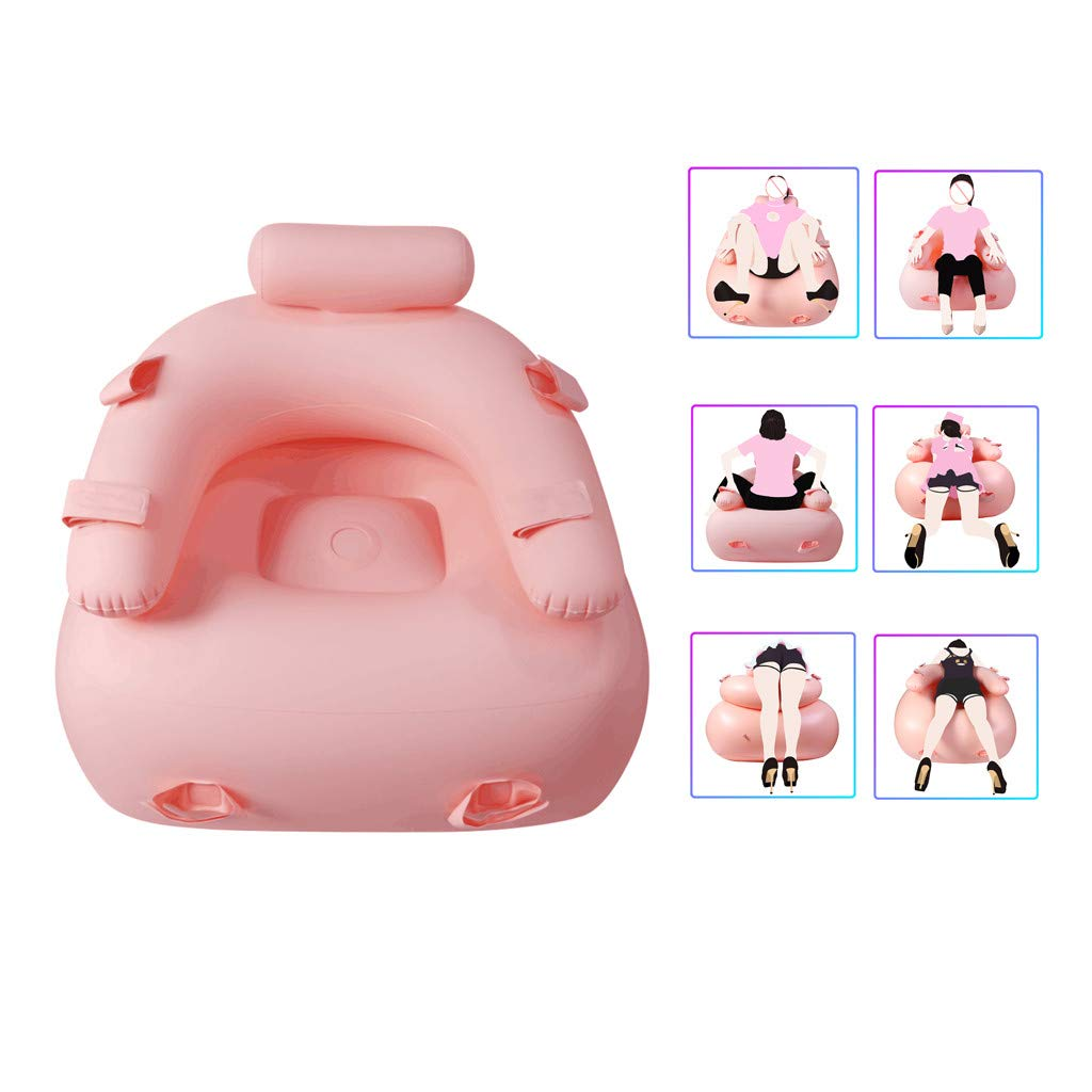 Sexy Sofa Sex Chair Inflatable Sofa Waterproof and Oilproof Couple Acacia Chair Portable Cushion Body Pillow Inflatable Furniture Lounger for Women Position Enjoy at Any Time by ASfairy