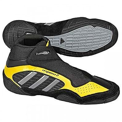 adidas Wrestling Zapatos Response II Lucha Talla 48 2/3 (GB 13) Hombre - Negro, 48 2/3 EU