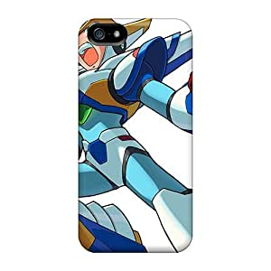 Durable Cases For The Iphone 5/5s- Eco-friendly Retail Packaging(megaman X)