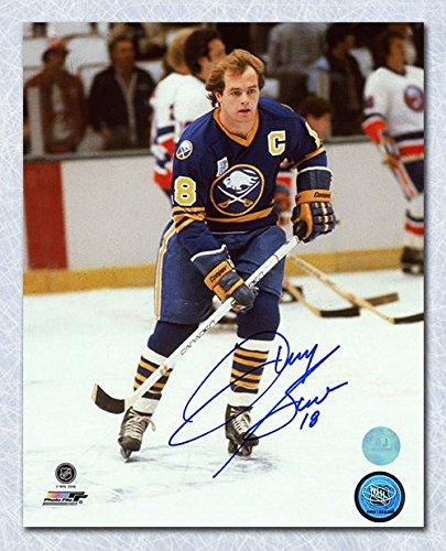 DANNY GARE Buffalo Sabres SIGNED 8x10 Captain Photo - Autographed NHL Photos (Nhl Signed Sabres Photo Buffalo)