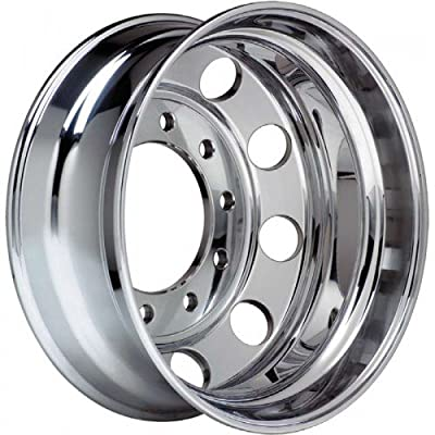 "Accuride Ultra Finish Aluminum 22.5"" x 8.25"" Wheel (41644XP) Peterbilt Kenworth - TRP Brand"