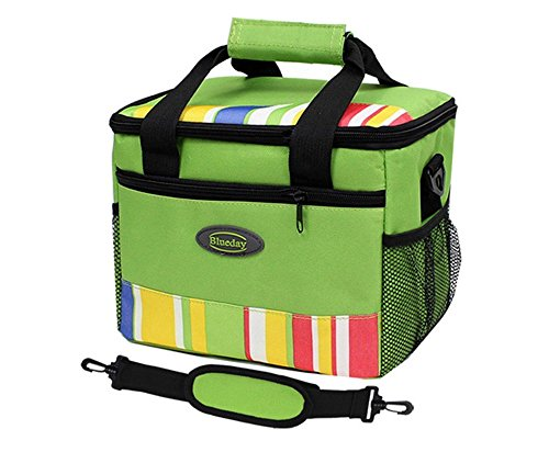 Grandey 7L Lunch Bags Cooler Bag Insulated For Women Kids Thermal Bag Lunch Box Food Picnic Bag Long Lasting Keep Warm or Hold Cool (green) by Grandey