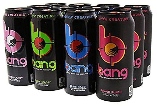 VPX Sports Bang Variety Pack 1 RTD 12 per Case - 16 fl oz...