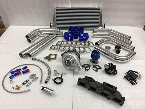 03-05 Dodge SRT-4 SRT4 T3T4 .63 Turbo Kit Intercooler BOV FMIC Manifold Fuel