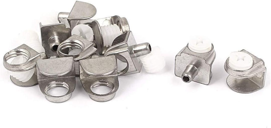 soporte de estante de cristal para ba/ño abrazadera de cristal de 3 mm a 8 mm de grosor 10 soportes de cristal para estantes