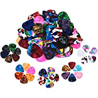 60 Pack Abstract Art Colorful Guitar Picks, Unique Guitar...