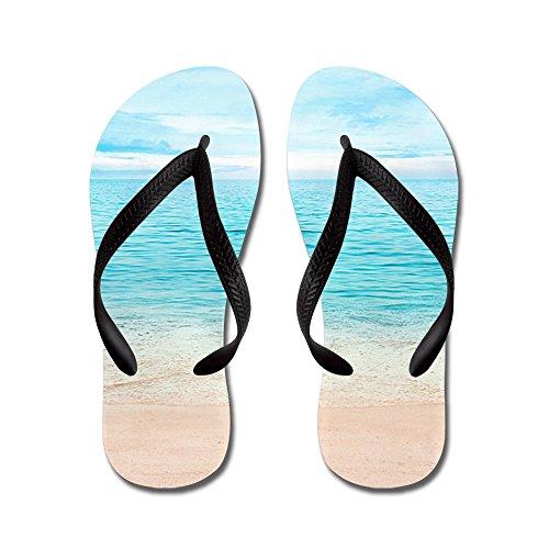 Bella Spiaggia - Infradito, Sandali Infradito Divertenti, Sandali Da Spiaggia Neri