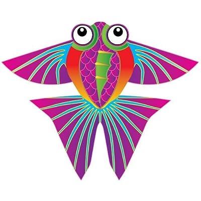X-Kites MicroKite Mini Mylar Kite - Tropical Fish: Toys & Games