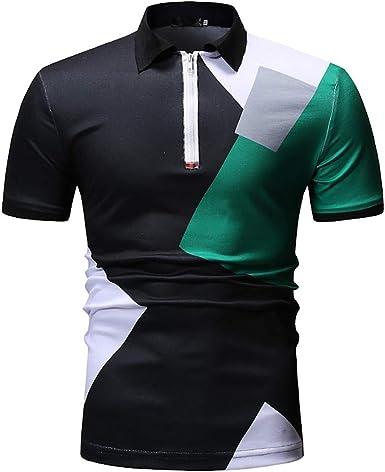 Camiseta para Hombre, YanHoo Camiseta de Camuflaje Blusa Superior ...