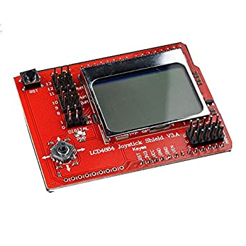 LCD 4884 Joystick Shield V3 con pantalla Nokia 5510 48 ...