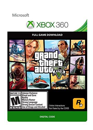Grand Theft Auto V - Xbox 360 Digital Code (Grand Theft Auto V Codes Xbox 360)