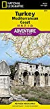 Turkey: Mediterranean Coast (National Geographic Adventure Map)