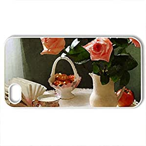 RCGrafix Brand rose floral pattern For Iphone 6Plus 5.5Inch Case Cover CaFits NEW For Iphone 6Plus 5.5Inch Case Cover