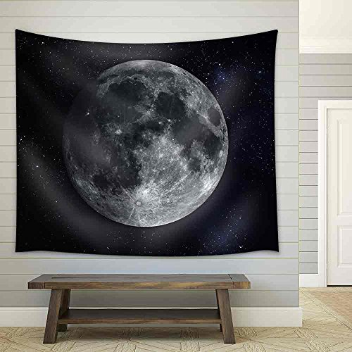 Solar System Planet Moon Fabric Wall