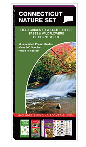 Connecticut Set - Connecticut Nature Set: Field Guides to Wildlife, Birds, Trees & Wildflowers of Connecticut