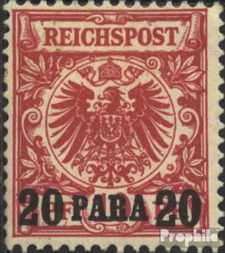 (German. Post Turkey 7b Tested 1890 Print Edition (Stamps for Collectors))