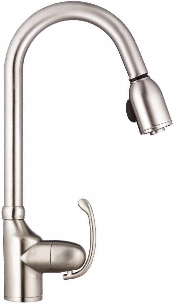 Danze D454520SS Anu Pull Down Kitchen Faucet, Stainless Steel