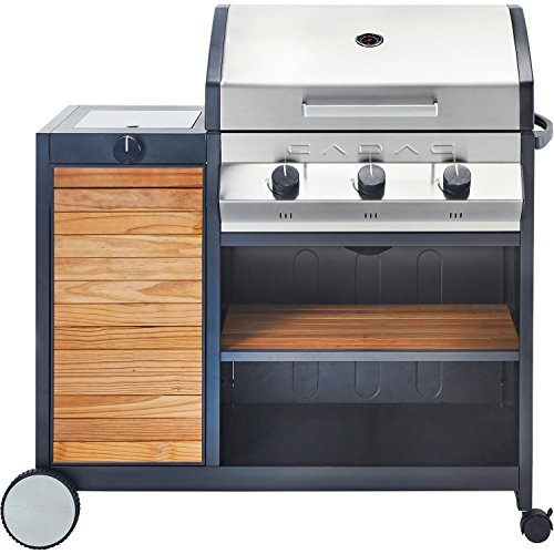 Cadac 20163-33-01-US Meridan Woody Grill Freestanding Gas | Gas Barbeque Reviews