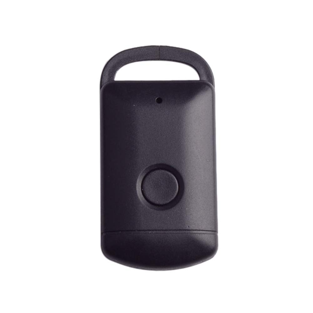 Weite Anti-Lost Theft Device, Portable Rectangle Alarm Bluetooth Remote GPS Tracker Child Pet Bag Wallet Key Finder Phone Box (Black)