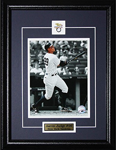 (Eekay Aaron Judge New York Yankees Memorabilia MLB 16x20 Collectible Sports Frame 8x10 Photo)