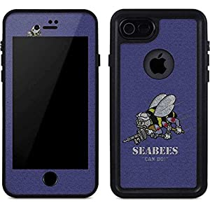 US Navy iPhone 7 Case - Seabees Can Do   Military X Skinit Waterproof Case by Skinit
