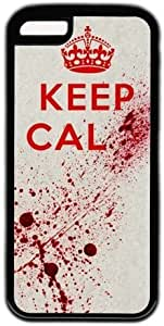 Keep Cal Blood Theme Iphone 5c Case by Maris's Diary