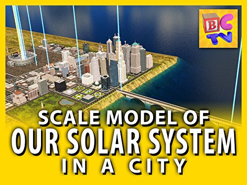 Our Solar System: Scale Model in a City]()