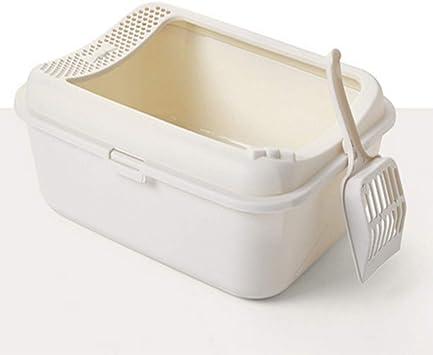 Amazon.com: Haierc - Caja de arena para gatos con tapa ...