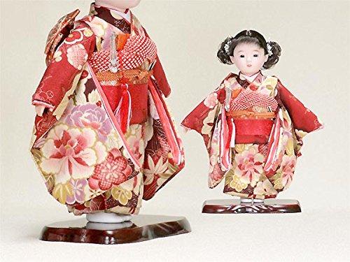 【市松人形】【わらべ人形】【浮世人形】 10号 いちまつ人形 10号62-053   B00NRHC2E0