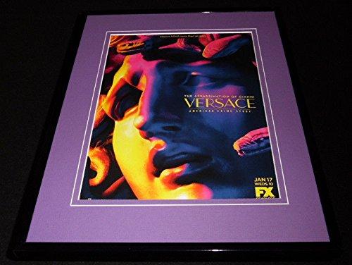 Assassination of Gianni Versace 2018 FX Framed 11x14 ORIGINAL - Shop Versace Online