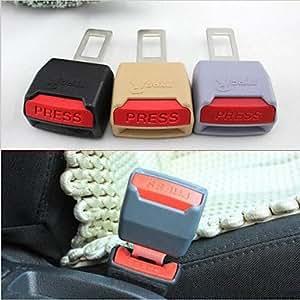 MK- nueva correa general de la hebilla del cinturón de seguridad pestillo hebillas cinturones enchufe motor arnés pinza gruesa hebilla de 3 colores