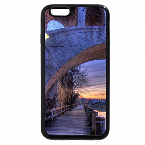 iPhone 6S / iPhone 6 Case (Black) bridge over the manayunk canal in philadephia hdr