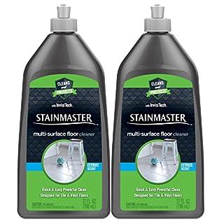 Stainmaster Multi-Surface Floor Cleaner, Citrus, 54 Fl Oz, 2 Packs of 27 Fl Oz