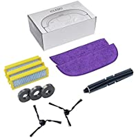 iClebo Replenishment Part Kit, Includes Brushes and Filters for Omega Robot Vacuum Cleaner