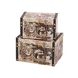 Household Essentials Animal Kingdom Design Box (Set of 2)