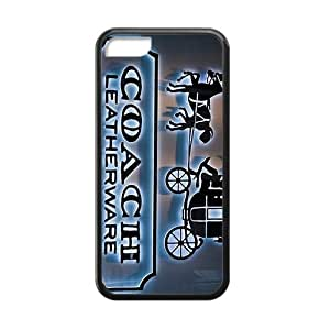 NICKER Coach design fashion cell phone case for iPhone 5C