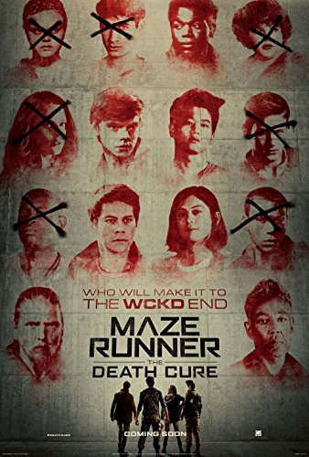 Kirbis Maze Runner The Death Cure Movie Poster 18 x 28 Inches