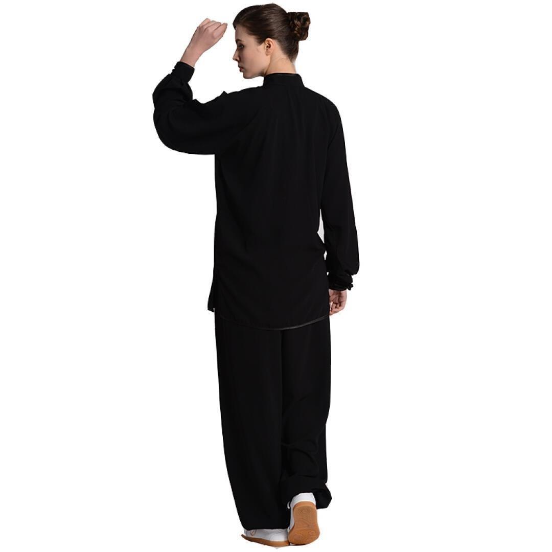 Amazon.com: BJSFXDKJYXGS Tai Chi Uniform Lujoso algodón ...