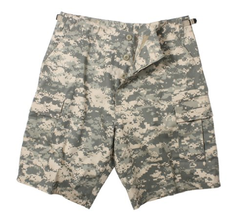 Acu Digital Camo Short (ROTHCO BDU SHORT POLY/COTTON - ACU DIGITAL CAMO - Size XL)