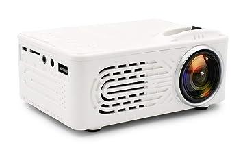 Mini Batería Proyector LCD Led Proyector Portátil Home Cinema Led ...